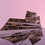 Modern Reflections ... Art Print by Juergen Weiss