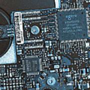 Modern Technology Print by Jutta Maria Pusl