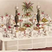 Modified Diner A La Russe, Set Art Print