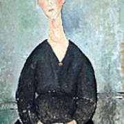 Modigliani's Cafe Singer Art Print