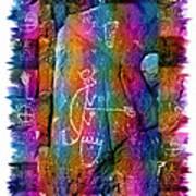 Mogollon Blanket Of Legends Art Print