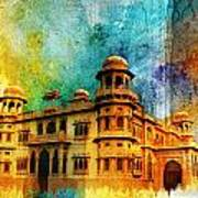 Mohatta Palace Art Print by Catf