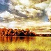 Mohegan Lake 2 Art Print
