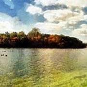 Mohegan Lake 3 Art Print