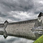 Mohne Dam Wide View Art Print