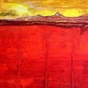 Mojave Dawn Original Painting Art Print