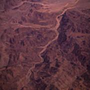 Mojave Desert Aerial Art Print