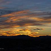 Mojave Desert Sunrise Art Print