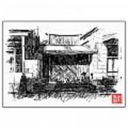 Mokelumne Hill Iv Art Print