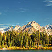 Molas Lake And The Needles Pan 1 Art Print