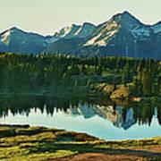 Molas Lake Sunrise Art Print