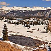 Molas Pass Winter Art Print