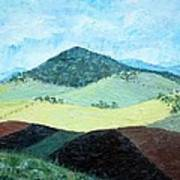 Mole Hill - Sold Art Print
