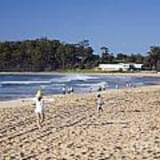 Mollymook Beach On The South Coast Of New South Wales Australia Art Print