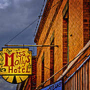 Miss Molly's Hotel Art Print