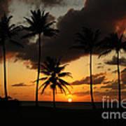 Moloki Sunset Art Print