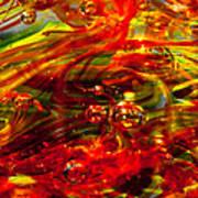 Molten Bubbles Art Print by David Patterson