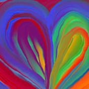 Molten Heart27 Art Print
