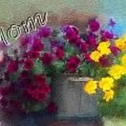 Mom Day 2014 Art Print