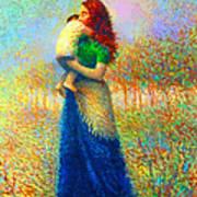 Mom I Love You 021 Art Print