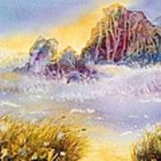 Moment Of Transition - Oregon Coast Art Print