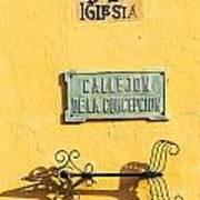 Mompox Street Signs Art Print