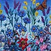 Mom's Flowers Art Print