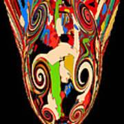 Mom's Venetian Glass Vase 17 Art Print