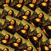 Mona Lisa Art Print by Moshfegh Rakhsha