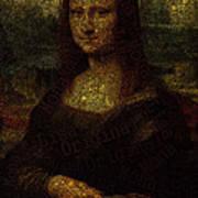 Mona Lisa Original Art Print
