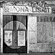 Mona Lisait Art Print