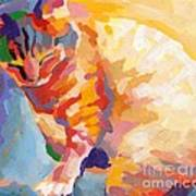 Mona Lisa's Rainbow Art Print by Kimberly Santini