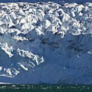 Monaco Glacier Liefdefjorden Norway Art Print