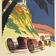 Monaco Grand Prix 1932 Art Print