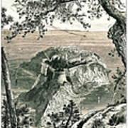 Monaco I Antique European Illustrations Art Print