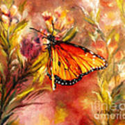 Monarch Beauty Art Print