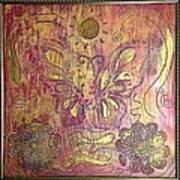 Monarch Butterfly By Alfredo Garcia Art Print