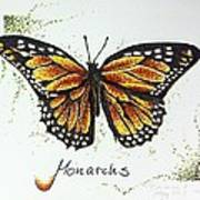 Monarchs - Butterfly Art Print