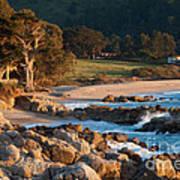 Monastery Beach In Carmel California Art Print