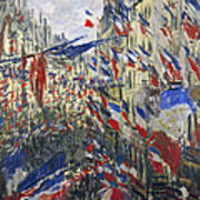 Monet: Montorgeuil, 1878 Art Print by Granger