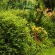 Monet's Garden Dreamscape Art Print