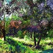 Monet's Garden Art Print
