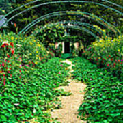 Monet's Gardens At Giverny Art Print