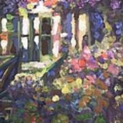 Monet's Home In Giverny Art Print