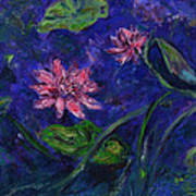 Monet's Lily Pond II Art Print
