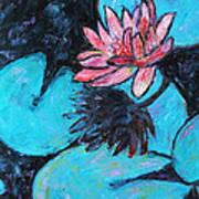 Monet's Lily Pond IIi Art Print