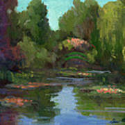 Monet's Water Lily Pond Art Print
