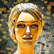 Money Love Art Print