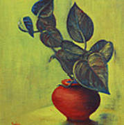 Money Plant - Still Life Art Print