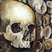 Monk Relic Art Print